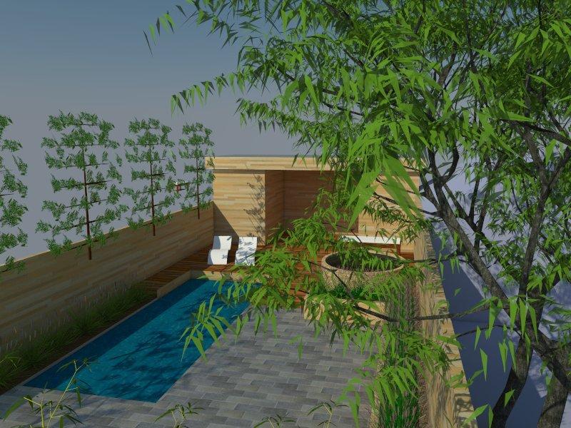 Tuinontwerp wellness Deerlijk - Professionele wellness tuin
