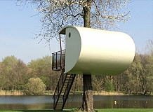Logeren in een boomhut op diverse locaties