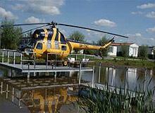 Logeren in een helikopter te Vollenhove