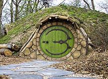 Logeren in een hobbitwoning te Castricum